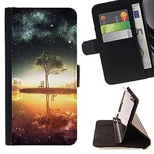Dragon Case - FOR HTC One M8 - The door of god - Caja de la carpeta del caso en folio de cuero del tirš®n de la cubierta protectora Shell