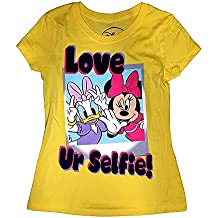 Disney Minnie Mouse & Daisy Selfie Youth Girls Baby Fashion Top Tee Shirt