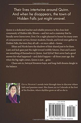 Hidden Falls Olivia Newport 9781683220657 Amazon Books