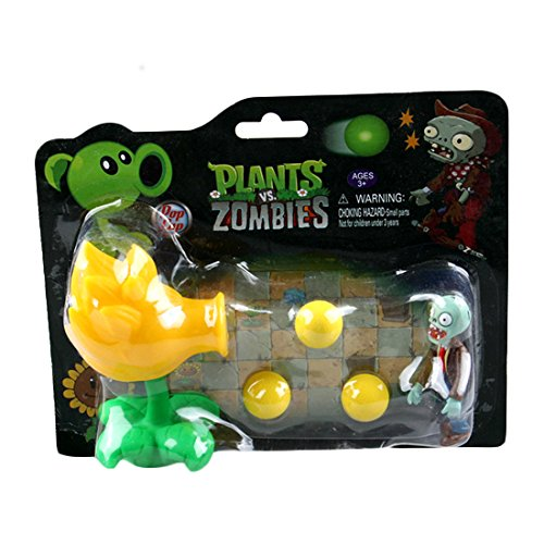 Toyswill Plants Vs Zombies Wukong Shooterトイイエロー   B01A8A4CXW