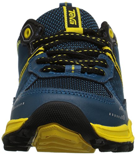 Teva Escapade Low Athletic Trail Shoe (Little Kid/Big Kid) Blue/Yellow