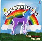 "Off the Wall Toys Narwhalicorn 5"" Bendable Action Figure Toy"