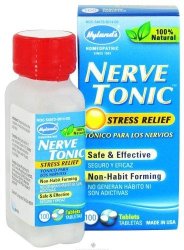 Nerve Tonic 3 grain Tab 100 TAB by Hyland Homeopathy