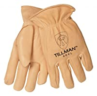 Tillman 864 Premium Top Grain Deerskin Drivers Gloves, Unlined, Medium