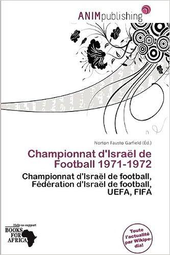 Livres Championnat D'Isra L de Football 1971-1972 pdf, epub ebook