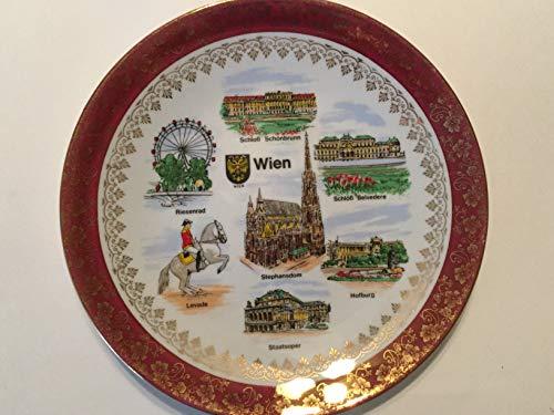Wien Souvenir Plate, Vienna Austria Decorative Plate