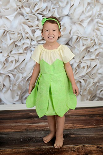 Tinkerbell Dress Up, Tinkerbell Costume, Tinkerbell Birthday Outfit, 18-24 Mo, 2T-5T, 5-7 Girls