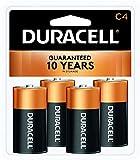Best C Batteries - Duracell Coppertop C Alkaline Batteries, 4 Count Review