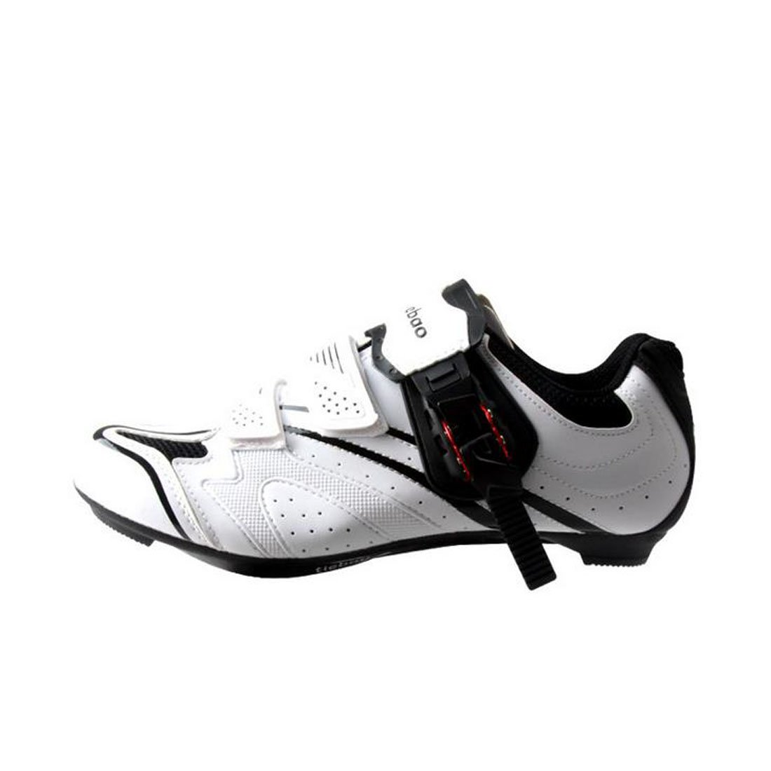 Amazon.com | Yitaotaous Mens Road Bike Shoes Indoor and Outdoor Cycling Shoes White AUTO Lock Shoes | Cycling