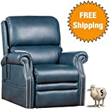 Serta® Perfect Lift Chair -Plush Comfort Recliner with Gel-Infused Foam -Ergonomic Hand Held Control With 2 Large LED Buttons and USB Port for Charging Phones -Lifetime Warranty (Kelp 900)