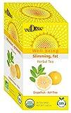 Valdena Bio Grapefruit, Focus & Ash Tree Herbal Tea Blend for Weight Loss, 20 Individual Herbal Tea Bags, Pack of 3, 60 Herbal Tea Bags in Total