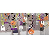 Halloween Theme Hanging Swirl Decoration
