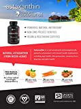 Astaxanthin 12mg with Organic Coconut Oil Non-Gmo Verified and Vegan Friendly Powerful Antioxidant Naturally Supporting Joint Skin amp Eye Health - 60 Veggie Softgels Discount