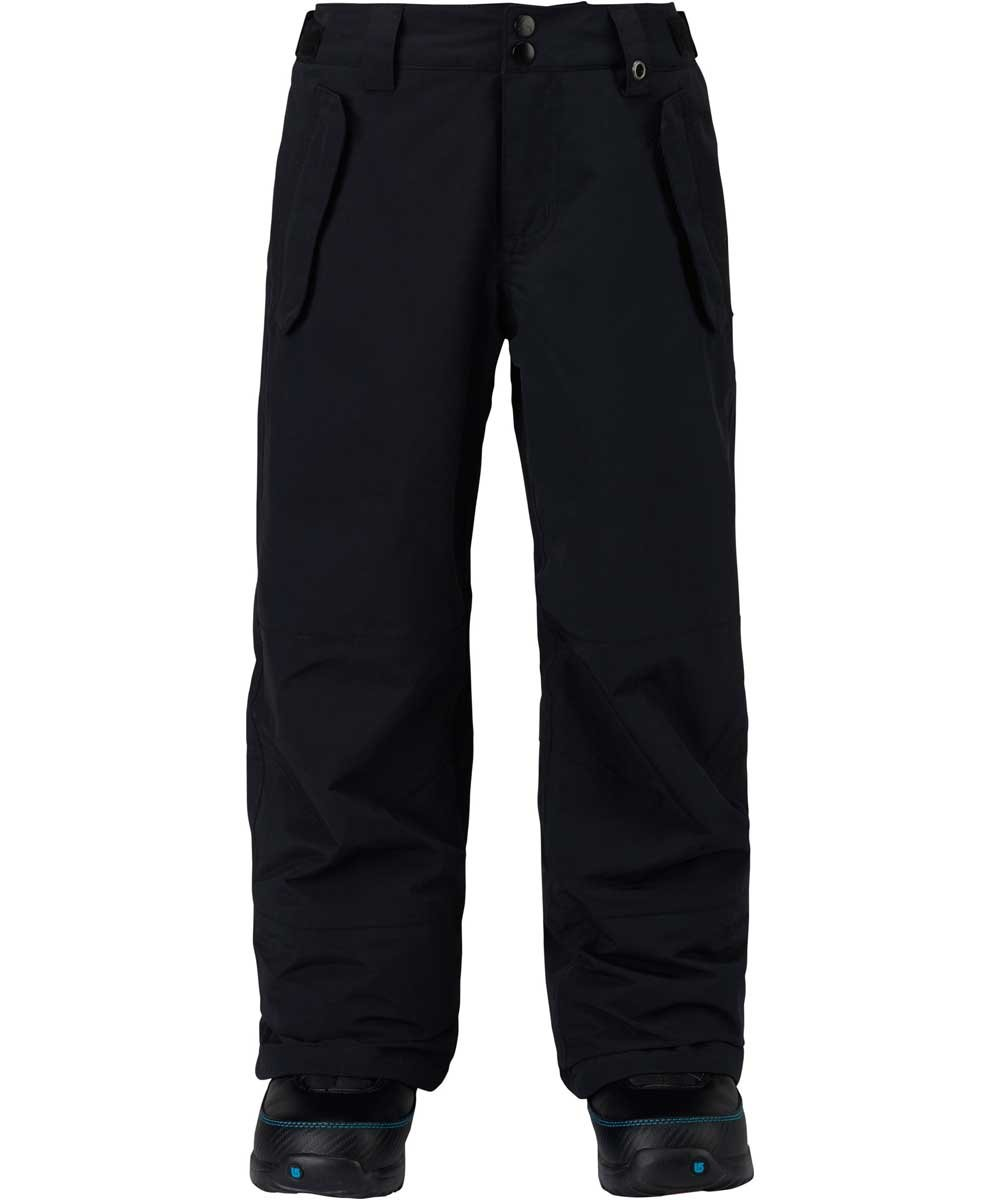 Burton Kids Boys Parkway Snow Pants True Black Size Medium by Burton
