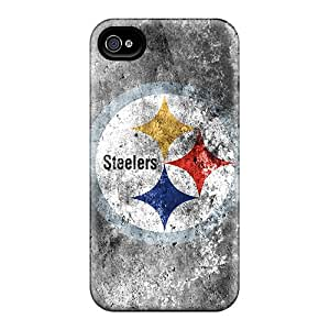 CristinaKlengenberg Iphone 4/4s Best Hard Cell-phone Cases Support Personal Customs Vivid Pittsburgh Steelers Skin [VNL9884qHoY]