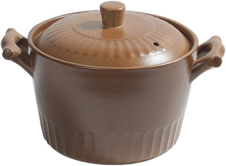 Horno holandés de hierro fundido esmaltado, cacerola para sopa, mujer embarazada, bebé, cazuela especial resistente al calor, regalo de Acción de Gracias, Material, Color, 2,5 L