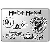 Harry Potter Decal Set - Apple Macbook Laptop Vinyl Sticker Decal