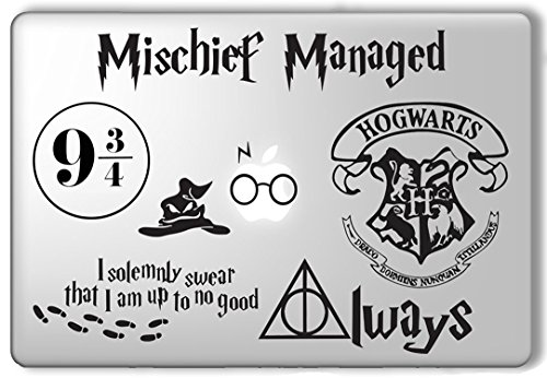 Great Deal! Harry Potter Decal Set - Apple Macbook Laptop Vinyl Sticker Decal