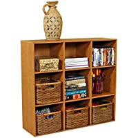 Venture Horizon Stackable Project Center Bookcase- Oak