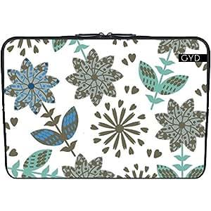 """Funda de neopreno NetBook / portátil 11.6"""" pulgadas - Patrón Floral by Luizavictorya72"""