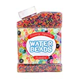 OSOPOLA Water Beads Mix Jelly Water Growing Balls 12 Colors Non-Toxic for Kids Tactile Sensory Toys Vases Plants Wedding and Home Decoration 9oz(280g)