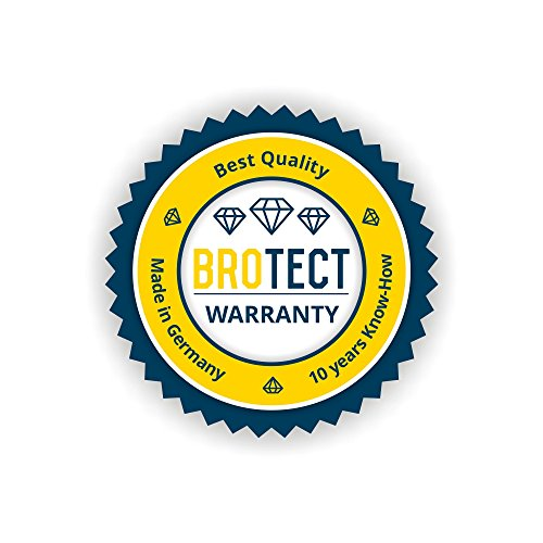 2x BROTECT HD-Clear Pellicola Protettiva Apple iPhone 5S Posteriore (intera superficie) Schermo Protezione – Trasparente, Anti-Impronte