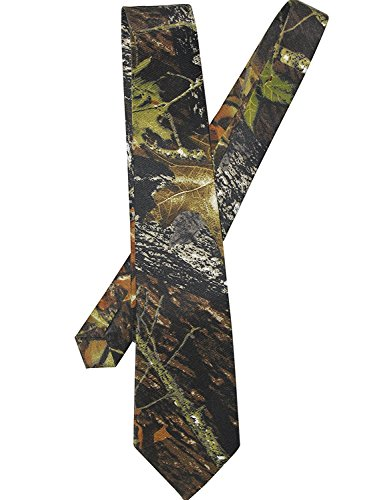 YOUAREFACNY Men's Designer Camo All Over Neck Tie Gift - Camouflage Necktie