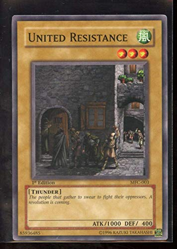 United Resistance 1st Edition MFC-003 Yugioh Magician's Force NM-MT