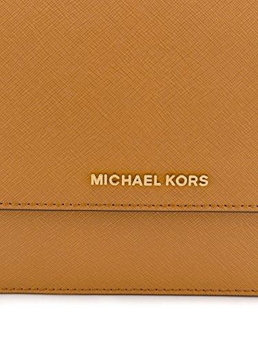 Michael By Michael Kors Borsa A Spalla Donna 32T6GDDC3L532 Pelle Marrone