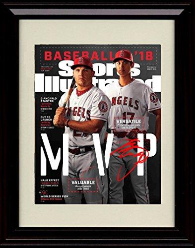 Mvp Autograph - Framed Shohei Ohtani Sports Illustrated Autograph Replica Print - MVP Say Hey Shohei!