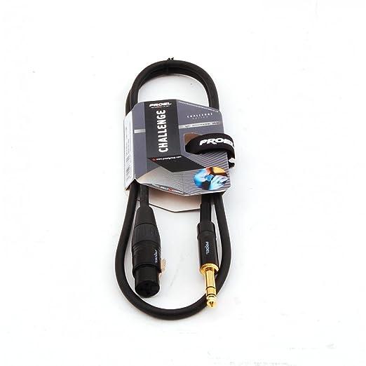 4 opinioni per Proel CHL210LU5 Cavo Professionale Bilanciato Jack Stereo 6,3 a Cannon XLR F 5mt