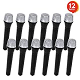 """ArtCreativity 5.5"""" Toy Microphone Set for Kids (12 Count) 
