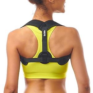 Posture Corrector for Women Men – Posture Brace – Adjustable Back Straightener – Discreet Back Brace for Upper Back Pain Relief – Comfortable Posture Trainer for Spinal Alignment (Universal)
