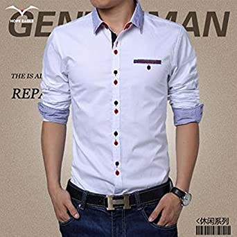 Amazon.com: New Hot 2017 Mens Spring Autumn Period shirt ...