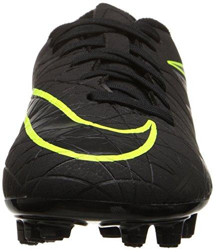 Nike Kinder Jr Hypervenom Phelon II Fg Fußballschuh Schwarz / Schwarz / Volt
