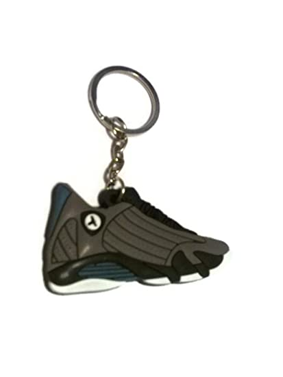 Amazon.com: Air Jordan XIV 14 Grafito Lobo Gris último Shots ...