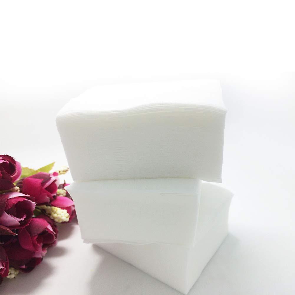 Isuper Belleza Blanda desechable de limpieza en seco de tela Wipe Mujeres Cuidado facial y paño de limpieza almohadillas húmedas/Toallitas toalla de cara de ...