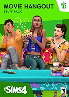 The Sims 4 - Movie Hangout Stuff [Online Game Code] (B01AITMOK6) | Amazon Products