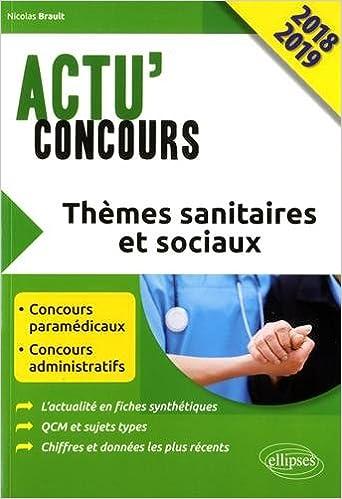 Themes sanitaires et sociaux 2018 (Actu Concours): Amazon.es: Nicolas Brault: Libros en idiomas extranjeros