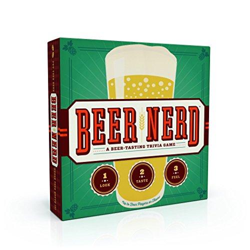 Chronicle Books Beer Nerd: A Beer Tasting Trivia Game