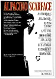 Scarface Poster Borderless Vibrant Premium Movie Poster Various Sizes (A3 Size 16.5 x 11.7 Inch / 420 x 297 mm)