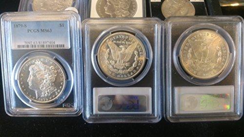 1879 Various Mint Marks Morgan Dollar MS63