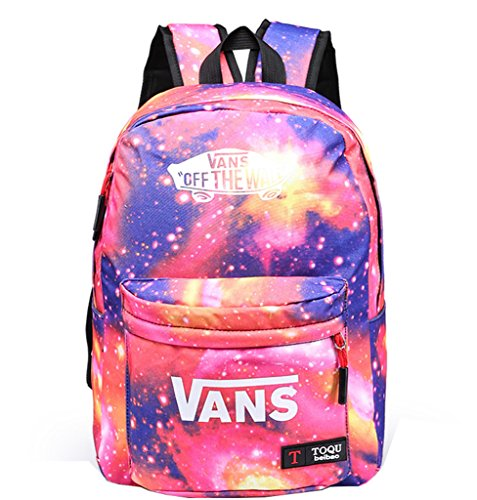 Fashion Canvas Galaxy Rucksack Backpack