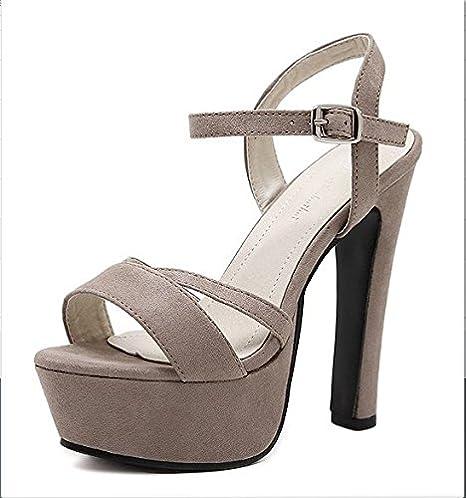 Xing Lin Chaussures D'été Pour Les Femmes La Nouvelle Boucle Mot Mot Boucle 3bc856