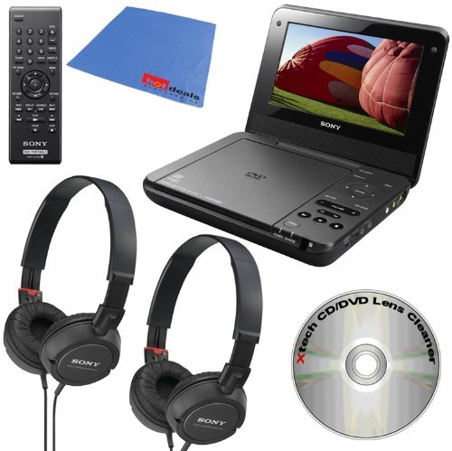 sony-dvp-fx750-7-inch-portable-dvd-player-black-2-sony-mdrzx100-blk-zx-series-stereo-comfortable-col