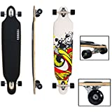 fsders VINGO® Skateboard Longboard Street Freeride Longboard