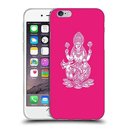 "GoGoMobile Coque de Protection TPU Silicone Case pour // Q09540616 Hindou 8 Rose pétant // Apple iPhone 6 4.7"""