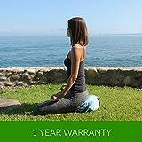 BLOOM Zafu Meditation Pillow Cushion, Round Yoga