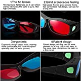 BIAL Red-Blue 3D Glasses with Glasses Case/Cyan