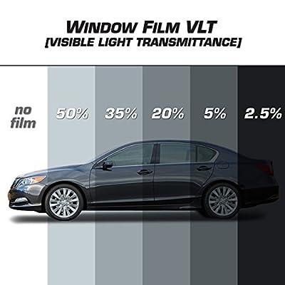 Alpena PrivateEyes 181230 Black Premium Window Film (5% VLT): Automotive